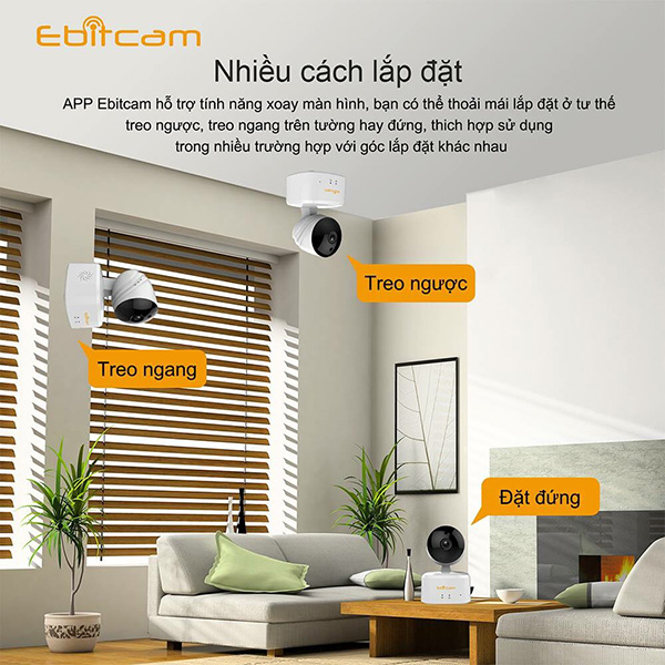 Camera Wifi EBitCam E2